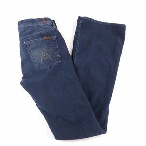 Seven for all Mankind 7FAM A Pocket Corduroys Blue